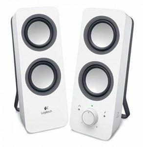Logitech Z200 Enceintes PC 10 watts Blanc de la marque Logitech image 0 produit