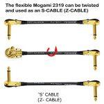Lot de 6 câbles de 15 cm de long - Pour guitare basse - Embouts plaqués or de qualité supérieure - Connecteurs de type TS de 6,35 mm de la marque WORLDS BEST CABLES image 4 produit