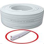 M & G Techno® Allemagne Câble 30m câble haut-parleur 2x 2,5mm² Blanc 100% CCA Boîtes en cuivre de la marque M&G Techno® image 2 produit