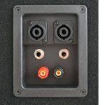 """Malone PW-2222 • Haut-parleur • enceinte passive à 3 voies • performance 1000 Watt max. • subwoofer 2 x 30 cm (12 """") • Enceinte medium • Tweeter Piezo • Réponse de fréquence : 30 Hz à 18 kHz • Noir de la marque Malone image 1 produit"""