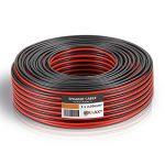MANAX Câble de haut-parleur CCA 2 x 2,5 mm² rouge/noir de la marque MANAX image 2 produit
