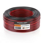 MANAX SC2075RB-10 câble de Haut-Parleur 2x0.75 mm² CCA (câble de Haut-Parleur/câble Audio), Anneau 10 m, Rouge/Noir de la marque MANAX image 2 produit