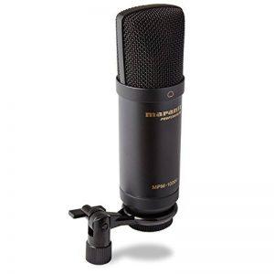 Marantz Professional MPM-1000U - Microphone à Condensateur Large Membrane USB pour le Podcast et l'Enregistrement, Câble USB et Clip de Micro Inclus de la marque Marantz Professional image 0 produit
