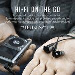 Mee Audio Pinnacle P2Haute fidélité Audiophile Écouteurs Intra-Auriculaires avec câbles détachables–Noir de la marque MEE audio image 1 produit