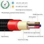 MiCity 2 Câble d'extension audio de rechange pour casques AKG Q701 K702 K271S K271 K141 K171 K181 MKII K240S K240 MK2 Pioneer HDJ-2000 2M de la marque MiCity image 3 produit