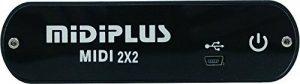 MIDIPLUS MIDI 2x2 USB MIDI interface de la marque MIDIPLUS image 0 produit