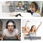 Mpow Casque pour PC, Multi-Usage, Casque USB & Casque de Chat 3.5mm, Casque de Jeu, Casque VOIP et contrôle in-Line pour Mac PC téléphone Mobile (Carte Son avec réduction de Bruit intégrée) de la marque Mpow image 1 produit