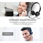 Mpow Casque pour PC, Multi-Usage, Casque USB & Casque de Chat 3.5mm, Casque de Jeu, Casque VOIP et contrôle in-Line pour Mac PC téléphone Mobile (Carte Son avec réduction de Bruit intégrée) de la marque Mpow image 3 produit