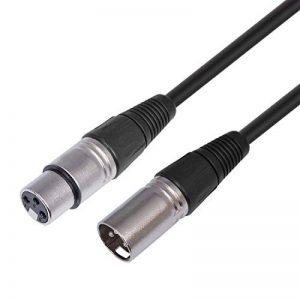 MutecPower 3m XLR male vers XLR femelle - Microphone Câble - 3 mètres de la marque MutecPower image 0 produit