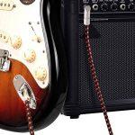 NEUMA Câble de Guitare Electrique 3m, Câble Jack de Basse Instrument 6.3mm Mâle à Mâle pour Amplificateur, Électrique Basse, Clavier, Piano, Guitare de la marque NEUMA image 4 produit