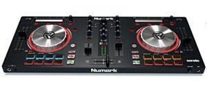 """Numark Mixtrack Pro 3 - Contrôleur DJ 4 Voies tout-en-un pour Serato DJ avec Interface Audio Intégrée, Jog Wheels 5"""" et Serato DJ Intro et Remix ToolKit de Prime Loops inclus de la marque Numark image 0 produit"""