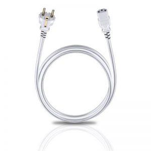 Oehlbach 17043 Câble d'alimentation 1,5 m Blanc de la marque Oehlbach image 0 produit