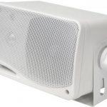"""Paire d'enceintes Pyle. Haut parleurs de 3.5 """" (8.9 cm) imperméables avec une puissance de 200 Watts - Blanc. de la marque Pyle image 2 produit"""