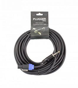 Plugger Câble HP Jack mâle/Speakon mâle 1.5 mm²/10 m Noir de la marque Plugger image 0 produit