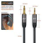 Primewire 1,0m Câble Jack/câble de Connexion Audio stéréo | câble Adaptateur Audio | fiche Jack Audio de Haute qualité de 2,5 mm à fiche Jack de 3,5 mm de la marque Primewire image 1 produit