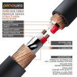 Primewire 1,0m Câble Jack/câble de Connexion Audio stéréo   câble Adaptateur Audio   fiche Jack Audio de Haute qualité de 2,5 mm à fiche Jack de 3,5 mm de la marque Primewire image 3 produit
