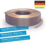 PureLink SP020-010 Câble d'enceinte 2 x 4,0mm² (99,9% OFC cuivre massif 0,10 mm) Câble de haut-parleur Hifi, 10m, transparent de la marque PureLink image 1 produit