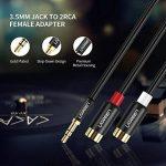 rca vers jack femelle TOP 9 image 1 produit