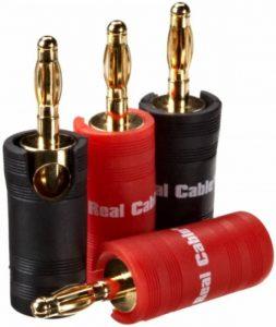 Real Cable B6932 Fiche Banane Screw-Universal pour Câble de la marque Real Cable image 0 produit