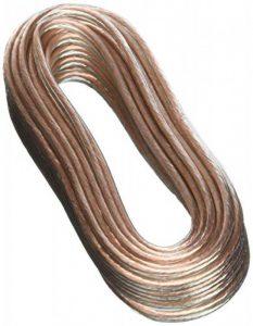 Real Cable CAT150020/10M Câble de Liaison pour Enceinte Argent de la marque Real Cable image 0 produit
