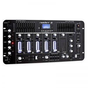 resident dj Kemistry 3BK • Table de mixage DJ • Mixeur 4 canaux • Console de mixage DJ • Bluetooth • Port USB • Port SD • Compatible MP3 • 2 x entrée RCA-Phono/Line • Égaliseur 10 bandes • Noir de la marque Resident DJ image 0 produit