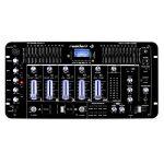 resident dj Kemistry 3BK • Table de mixage DJ • Mixeur 4 canaux • Console de mixage DJ • Bluetooth • Port USB • Port SD • Compatible MP3 • 2 x entrée RCA-Phono/Line • Égaliseur 10 bandes • Noir de la marque Resident DJ image 1 produit