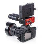 Saramonic SR-PAX1 Audio Mixer Adaptateur de micro-préampli à 2 canaux avec double entrée XLR / 6.3mm / 3.5mm + 3.5mm Sortie pour iPhone 7 7 plus 6 6s Appareil photo reflex numérique de la marque Saramonic image 2 produit