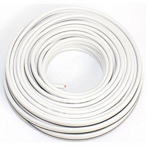 Seki 311986Câble de haut-parleur Blanc 2x 2,5mm², 10m de la marque Seki image 0 produit