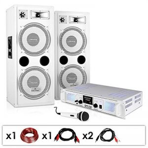 "Set DJ PA ""DJ-22"" Ampli enceintes micro câbles 1000W de la marque Electronic-Star image 0 produit"