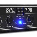 Set Sono DJ-26 - Pack de sonorisation complet - Ampli Enceintes et Micro (2000 W de puissance, câblage fourni) - Noir de la marque Electronic-Star image 2 produit