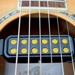 SILENCEBAN 12 transducteur de guitare SoundHole transducteur électro-acoustique pour préampli magnétique de guitare acoustique avec réglage de la tonalité et du volume, longueur de câble de 10 ft de la marque SILENCEBAN image 4 produit