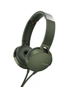 Sony MDR-XB550AP Casque avec EXTRABASS Vert de la marque Sony image 0 produit