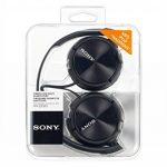 Sony MDR-ZX310B Casque Pliable - Noir de la marque Sony image 4 produit