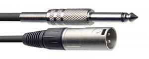 Stagg GC-01XJH Câble XLR M/ JACK M 1m de la marque Stagg image 0 produit