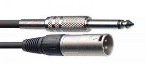 Stagg SAC6PXM DL Câble Mono Jack 6 m à XLR mâle Noir de la marque Stagg image 0 produit