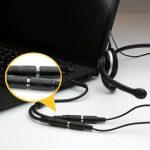 StarTech.com Adaptateur pour casque avec prises pour écouteur et microphone séparées - Mini-Jack 3,5mm 1x (M) 2x (F) - Noir de la marque StarTech.com image 4 produit
