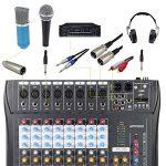 table de mixage avec micro TOP 8 image 4 produit