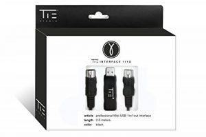 TIE Interface MIDI USB pour Mac/PC 2 m de la marque TIE image 0 produit