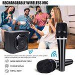 TONOR Haut-parleur Bluetooth 50W avec Microphone Portable sans Fil Système de Sonorisation pour Réunion, Salle de Classe, Conférence, Petite Représentation et Réunion Familiale de la marque Tonor image 2 produit