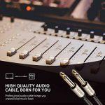 UGREEN Câble Audio Jack 6.35mm vers 6.35mm Câble d'Instrument Mono Mâle vers Mâle Cordon Nylon Tressé pour Guitare Basse Clavier Amplificateur Chaîne Hifi Enceinte Table de Mixage (3 M) de la marque UGREEN image 2 produit