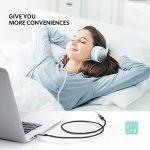 UGREEN Câble Extension Audio Rallonge Jack 3.5mm Mâle vers Femelle avec Embouts Aluminium (3 M, Noir) de la marque UGREEN image 3 produit