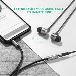 UGREEN Câble Extension Audio Rallonge Jack 3.5mm Mâle vers Femelle avec Embouts Aluminium (3 M, Noir) de la marque UGREEN image 4 produit