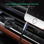 UGREEN Câble Jack Auxiliaire Audio Stéréo 3.5mm Mâle Mâle en Nylon Tressé Compatible avec iPhone iPod iPad Autoradio Casque Smartphone Tablette (2 M, Bleu) de la marque UGREEN image 3 produit