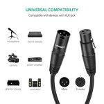 UGREEN Câble XLR Câble Microphone Mâle vers Femelle Compatible avec Enceinte Table de Mixage Caméra Amplificateur Préampli (1m) de la marque UGREEN image 2 produit