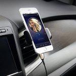 ULTRICS AUX Cable, Casque Auxiliary Angle Spirale Audio Stéréo Connecteur Or 3.5mm Jack Mâle à Mâle pour Apple iPhone iPod iPad Samsung Tablette MP3 Voiture Haut-parleurs Smartphones Sony HTC - 30CM de la marque ULTRICS image 3 produit