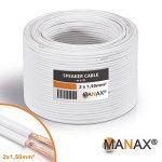 Unbekannt Câble pour haut-parleur 2x 1,5mm² 30m - white de la marque Unbekannt image 3 produit