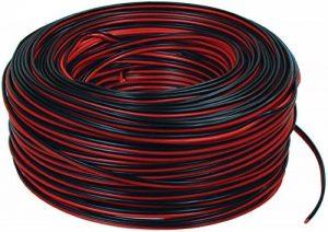 Valueline LSP-010R Câble Haut-parleur 2 x 0,35 mm 100 m Noir/Rouge de la marque Valueline image 0 produit