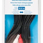 Valueline VLAB24205B100Câble rallonge Audio stéréo 2x RCA mâle–Femelle, 10m, Noir de la marque Valueline image 3 produit