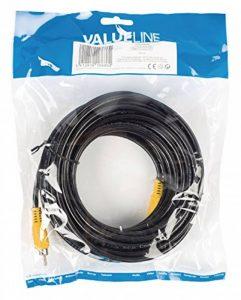 Valueline VLVP24100B100 Câble composite RCA mâle vers RCA mâle 10 m Noir de la marque Valueline image 0 produit