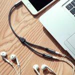 Victeck Câble Audio stéréo répartiteur avec Prise Jack 3,5 mm mâle vers 2 Prises Jack 3,5 mm Femelles Longueur 25 cm de la marque VICTECK image 4 produit